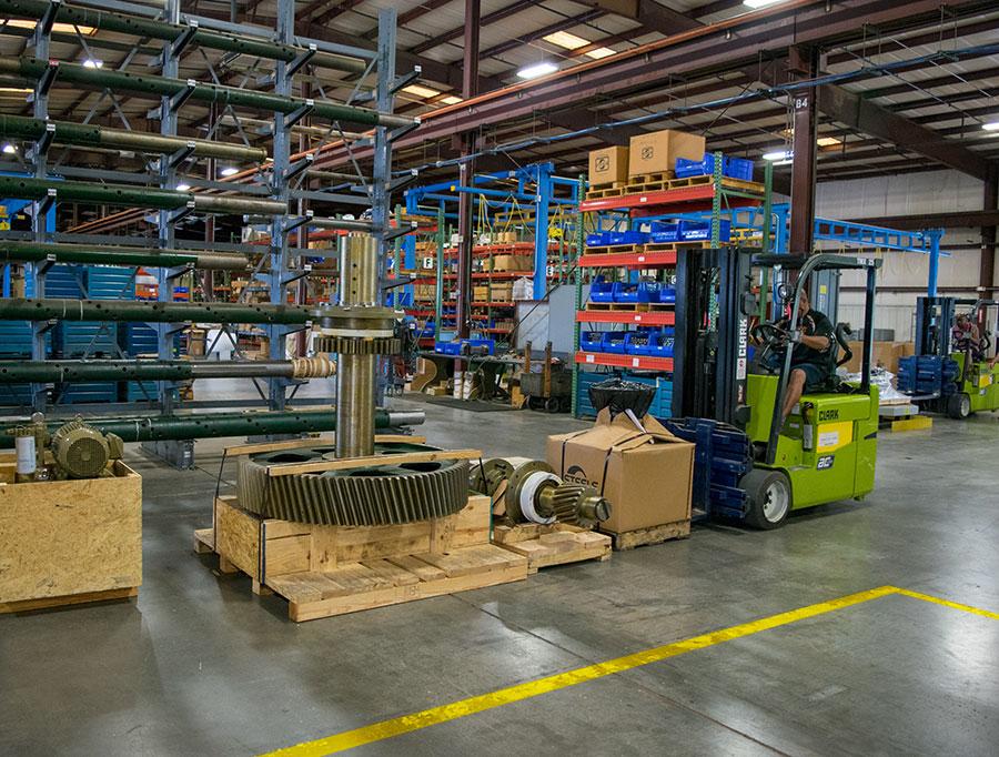 Steele Parts warehouse