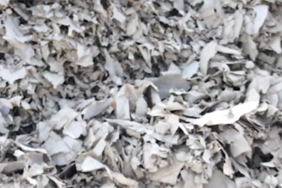 gypsum-scrap